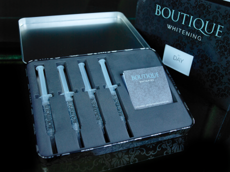 Boutique tooth whitening gel